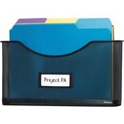 Fellowes Mesh Partition Additions™ File Pocket, Letter-Size, Black