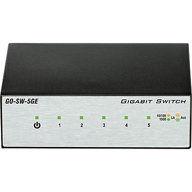 D-Link GO-SW-5GE 5 Port Gigabit Metal Switch