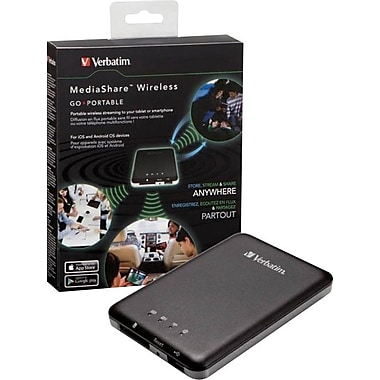 Verbatim MediaShare Wireless Storage Network/Streaming Media Player