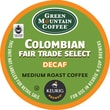 Keurig® K-Cup® Green Mountain® Columbian Fair Trade Coffee, Decaf, 18 Pack