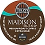 Keurig K-Cup Tully's Madison Blend Coffee, Regular, 18