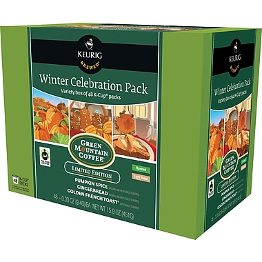 Keurig K-Cup Winter Variety Pack, 48 Cups/Pack