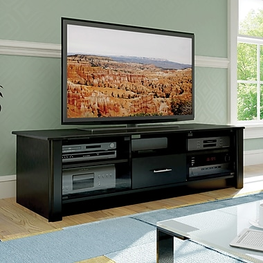 Sonax® Bromley 60in. TV/Component Bench, Midnight Black