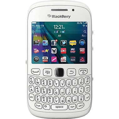 Blackberry Curve 9320 Unlocked GSM OS 7.1 Cell Phone, White