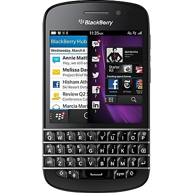 Blackberry Q10 Unlocked GSM OS 10 Cell Phone, Black