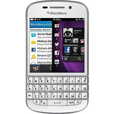 Blackberry Q10 Unlocked GSM OS 10 Cell Phone, White