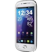 BLU Amour D290a Unlocked GSM Phone w/ Swarovski Zirconia Home Button, White