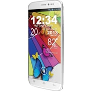 BLU Life View L110a Unlocked GSM Dual-SIM Android Cell Phone, White