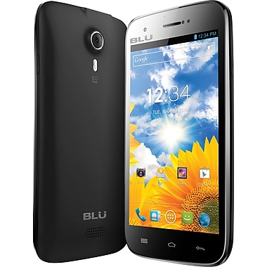 BLU Studio 5.0 D530 Unlocked GSM Dual-SIM Android Cell Phone, Black