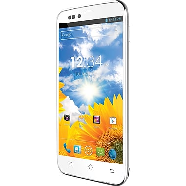 BLU Studio 5.0 S D570a Unlocked GSM Dual-SIM Android Cell Phone, White