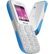BLU Tank T190i Unlocked GSM Dual-SIM Cell Phone, White/Blue