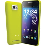 Blu Vivo 4.3 D910a Unlocked GSM Dual-SIM Android Cell Phone, Yellow