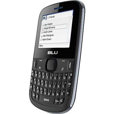 BLU Tattoo S Q192 Unlocked GSM Dual-SIM Cell Phone, Gray