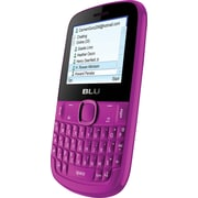 BLU Tattoo S Q192 Unlocked GSM Dual-SIM Cell Phone, Pink