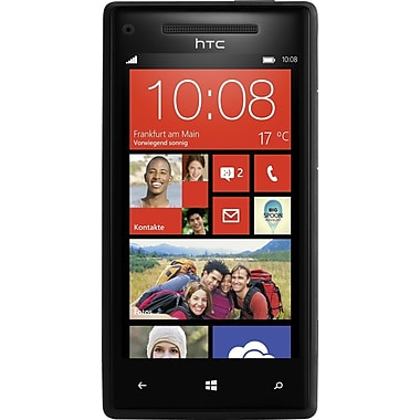HTC 8X 16GB Unlocked GSM Windows 8 OS Cell Phone, Black