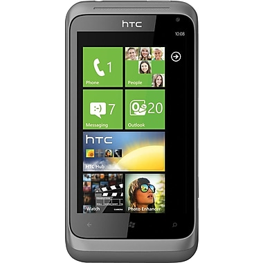 HTC Radar C110e Unlocked GSM Windows 7.5 OS Cell Phone, Metal Silver