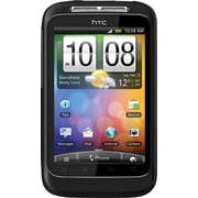 HTC Wildfire S Unlocked GSM Android Cell Phone, Black
