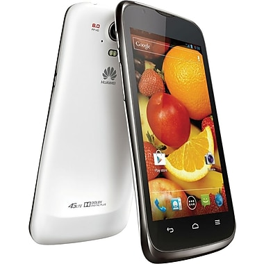 HUAWEI Ascend P1 LTE U9202 Unlocked GSM Android Cell Phone, White