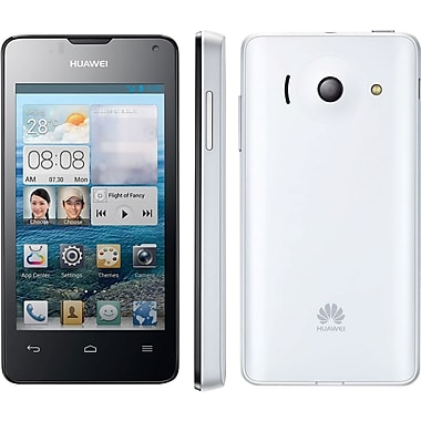 HUAWEI Ascend Y300 Unlocked GSM Android Cell Phone, White