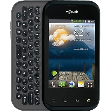 LG myTouch Q C800 Unlocked GSM Android Cell Phone, Black