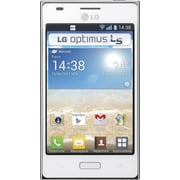 LG Optimus L5 Dual E615 Unlocked GSM Android Cell Phone, White