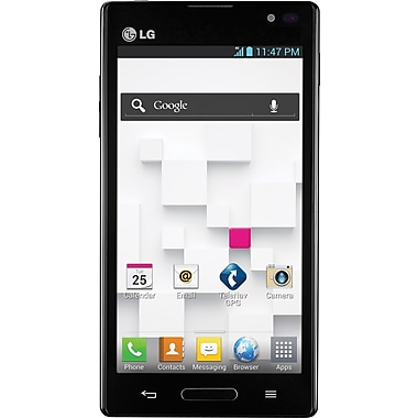 LG Optimus L9 P768 Unlocked GSM Android 4.0 OS Cell Phone, Black