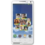 Motorola Motoluxe XT615 Unlocked GSM Android Cell Phone, White