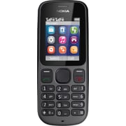 Nokia 100 Unlocked GSM Dual-Band Cell Phone, Black