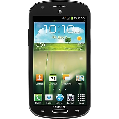 Samsung Galaxy Express I437 Unlocked GSM Android Cell Phone, Black