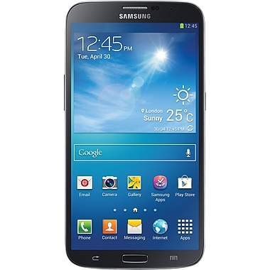 Samsung Galaxy Mega 6.3 I9200 GSM Unlocked Android Cell Phone, Black