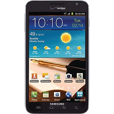 Samsung Galaxy Note I717 Unlocked GSM Android Cell Phone, Blue