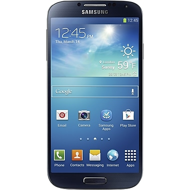 Samsung Galaxy S4 16GB Unlocked GSM Android Cell Phone, Black