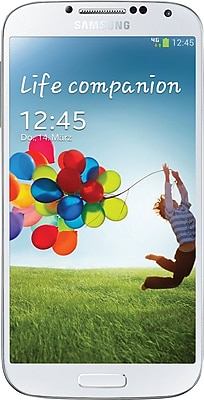 Samsung Galaxy S4 16GB Unlocked GSM Android Cell Phone, White