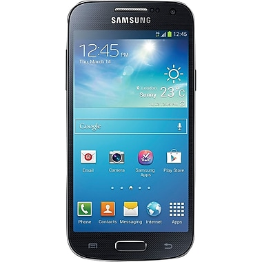 Samsung Galaxy S4 Mini DUOS I9192 Unlocked GSM Android Dual-SIM Phone, Black
