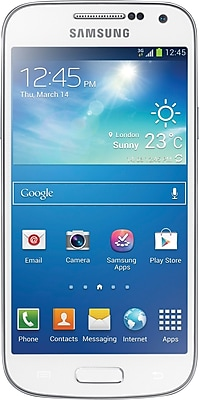 Samsung Galaxy S4 Mini I9195 8GB 4G LTE Unlocked GSM Android Phone - White