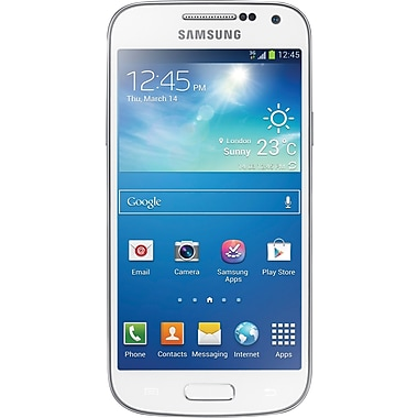 Samsung Galaxy S4 Mini DUOS I9192 Unlocked GSM Android Dual-SIM Phone, White