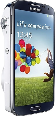 Samsung Galaxy S4 Mini Zoom SM-C101 Unlocked GSM Cell \/ Camera Phone, White