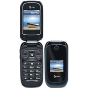 ZTE Z221 Unlocked GSM Flip Cell Phone, Black