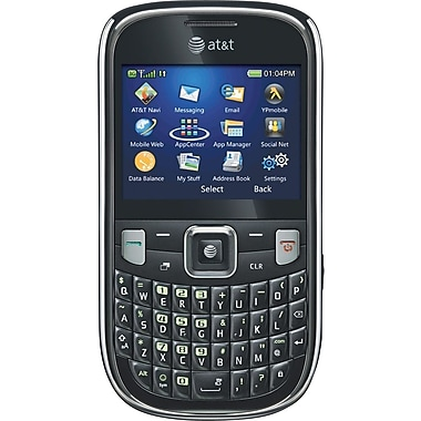 ZTE Z431 Unlocked GSM QWERTY Cell Phone, Black
