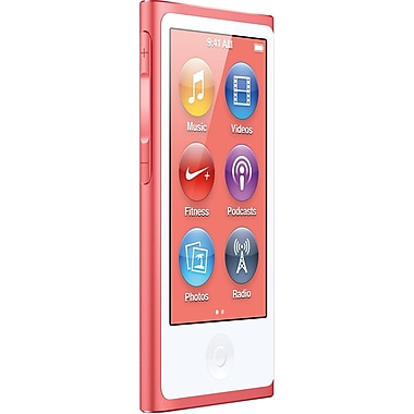 Apple iPod nano 16GB 7th Generation, Pink