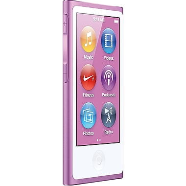 Apple iPod nano 16GB 7th Generation, Purple