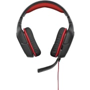 Logitech G230 Wired Stereo PC Gaming Headset (981-000541)