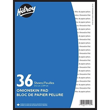 Hilroy® Onion Skin Pad, 8 - 1/2