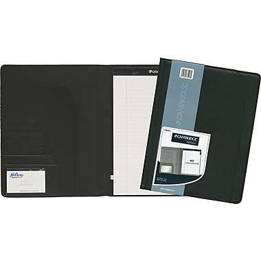 Cambridge® Letter Size Padfolio