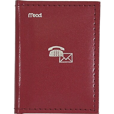 Mead® Index Telephone and Address Book, 3