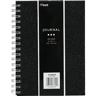 Mead® Pebbled Poly Coil Bound Journal, 8-3/4