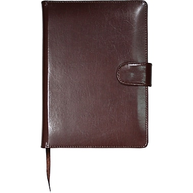 Mead® Bonded Leather Journal with Clasp, 6 - 1/2