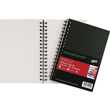 Studio pro® Poly Sketch Book, Coil Bound, 75 Sheets, 6