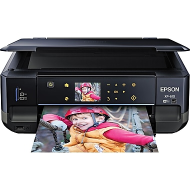 Epson Expression® Premium XP-610 Color Inkjet All-in-One Printer
