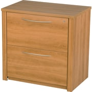 Bestar Embassy Collection Lateral File, Assembled, Cappuccino Cherry